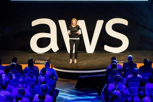 Lors du Summit AWS du 19 avril 2018 à Bruxelles