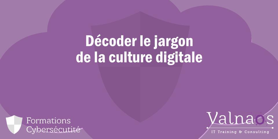 Décoder le jargon de la culture digitale