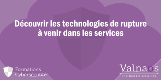 Découvrir les technologies de rupture à venir dans les services