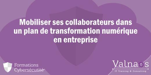 Mobiliser ses collaborateurs dans un plan de transformation numérique de l'entreprise