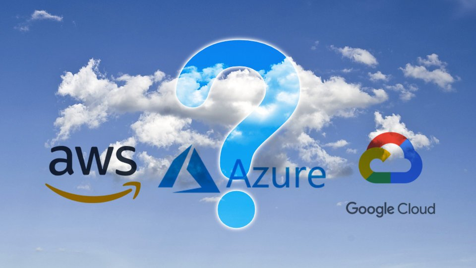 AWS, Azure, Google : Quel cloud choisir ?