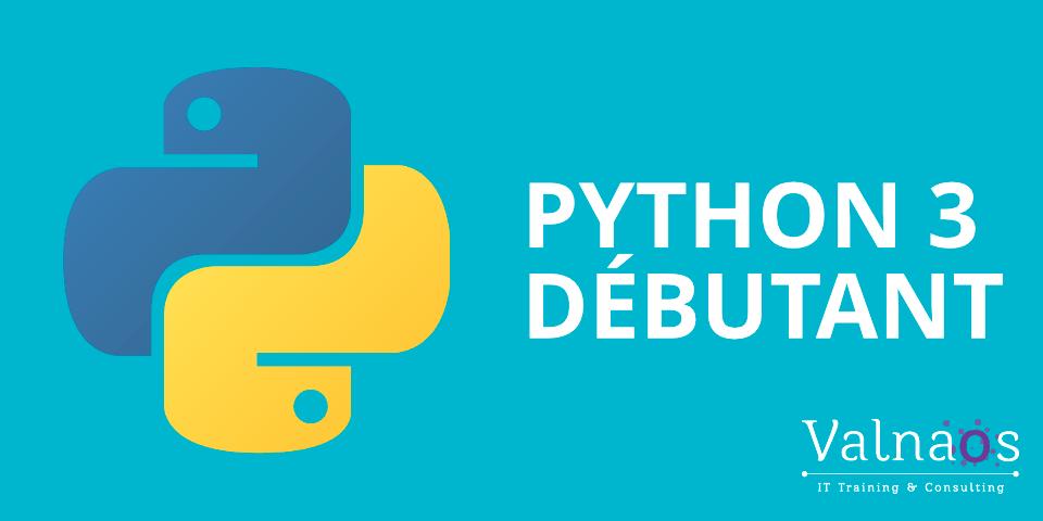 Formation Python 3 pour Débutants
