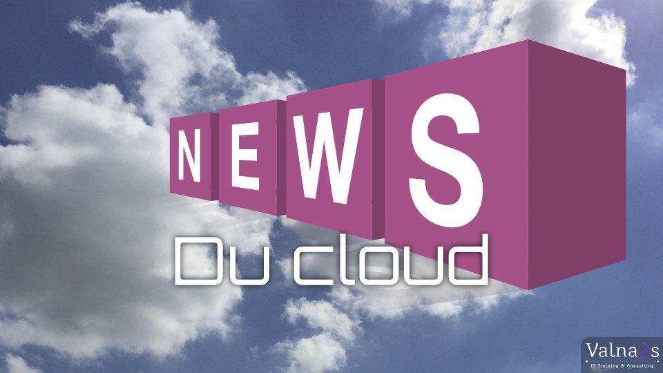 Les actus du Cloud Computing : Septembre 2020
