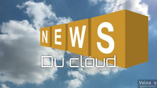 Actualités du Cloud Computing - Novembre 2020